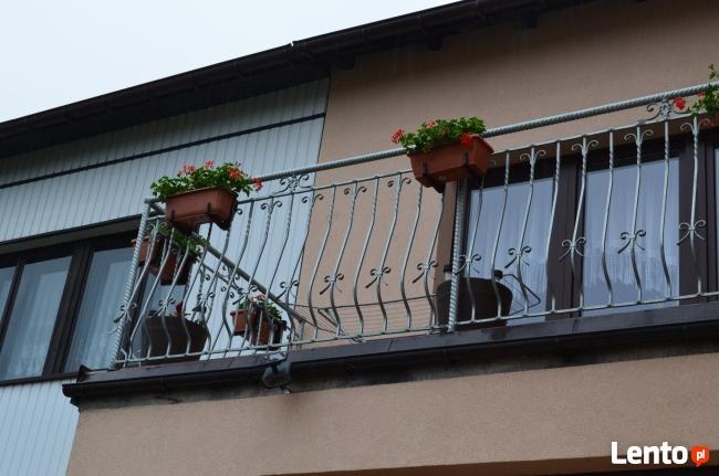 Balustrady,bramy,płoty kute, meble ogrodowe,piece Co