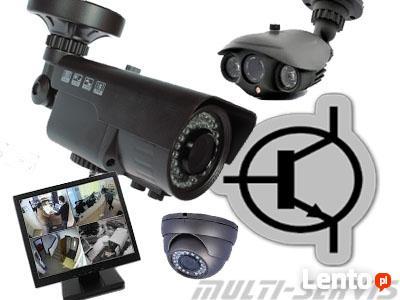 Monitoring telewizja przemysłowa.