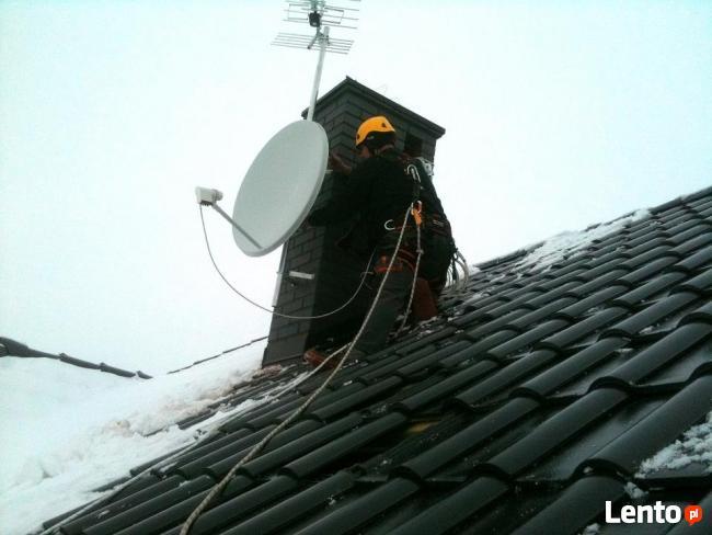 Ustawienie,montaż anteny satelitarnej