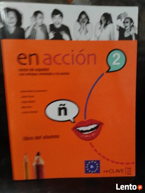 En Accion 2 podręcznik do nauki j. hiszpańskiego
