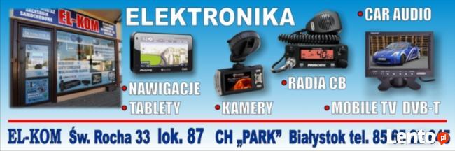 Kamery, nawigacje, CB radia