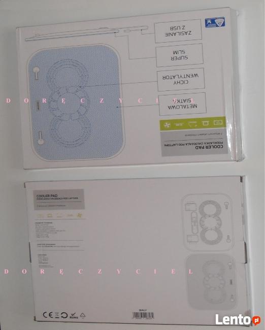 Podkładka chłodząca pod Laptop z dostawą gratis - Nowa