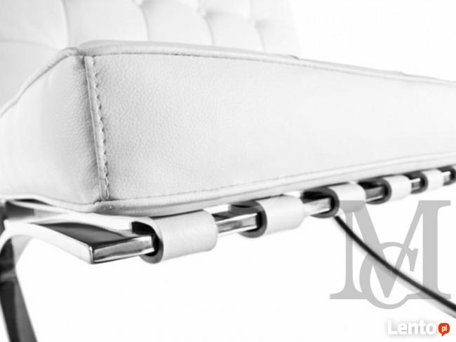 Sofa inspirowana projektem Barcelona 3-osobowa 100% skóra