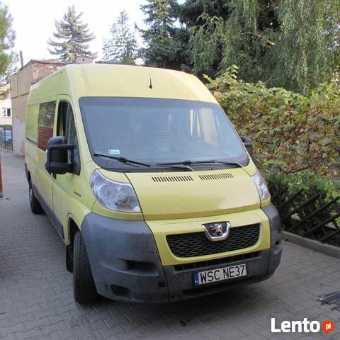 Nowość Bus busy blaszak dostawczy samochód chłodnia Łódź SE46