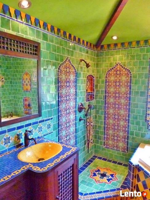 łazienki stylowe