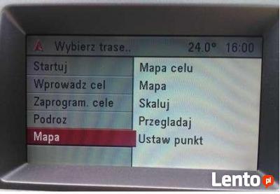 Opel Cd70 Dvd90 Navi Najnowsze Polskie Menu Lektor Mapa Mielec