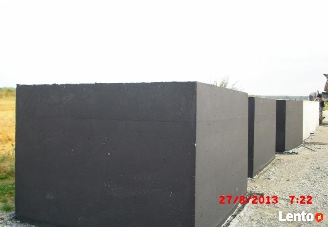 szamba , zbiorniki betonowe