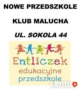 Edukacyjne przedszkole ENTLICZEK zaprasza!