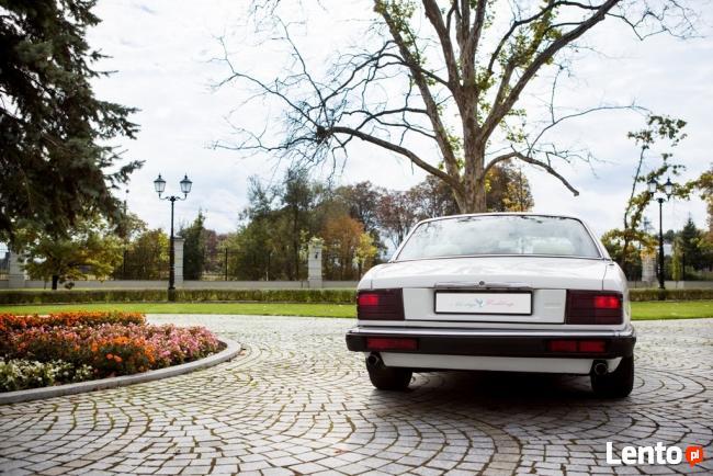 Biały Jaguar do ślubu Atrakcyjna cena, wolne terminy