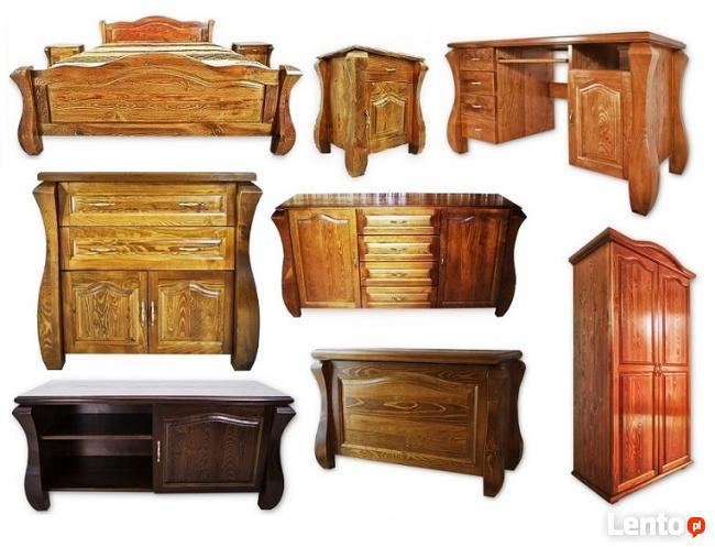 Łóżka z Drewna Litego 140,160,180,200 od PRODUCENTA
