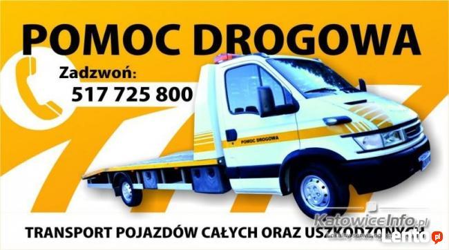 Pomoc drogowa holowanie transport SANDOMIERZ - CAŁA POLSKA