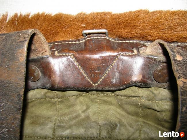 Niemiecki plecak wojskowy z II wojny światowej