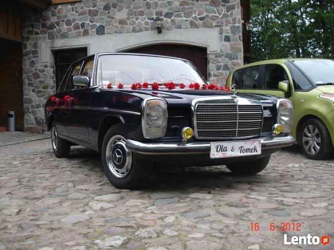 Klasyczne auta do ślubu zabytkowe mercedesy z lat 50-60-70