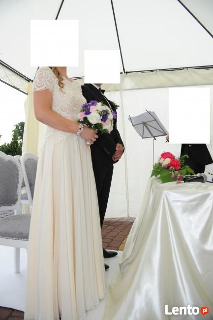 Sprzedam suknię ślubną polskiej firmy Gala, model Keira z