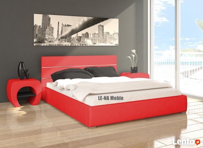 Łóżko tapicerowane RED BED 160x200 PRODUCENT