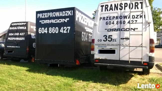 7/24 DRAGON przeprowadzki ,taxi bagażowe-od 40zl ,transport