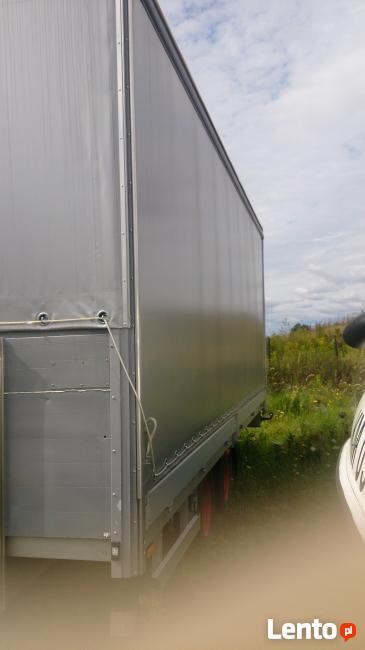 Przyczepa Firanka z burtami 4480 kg DMC