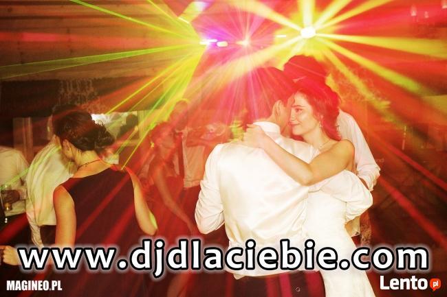Dobry DJ dla Ciebie zagra! na wymarzone wesele, imprezę