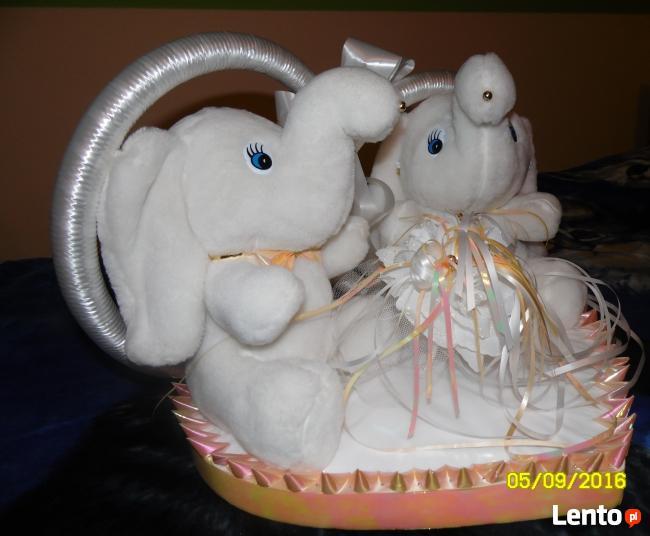Sprzedam parkę pluszowych słoni
