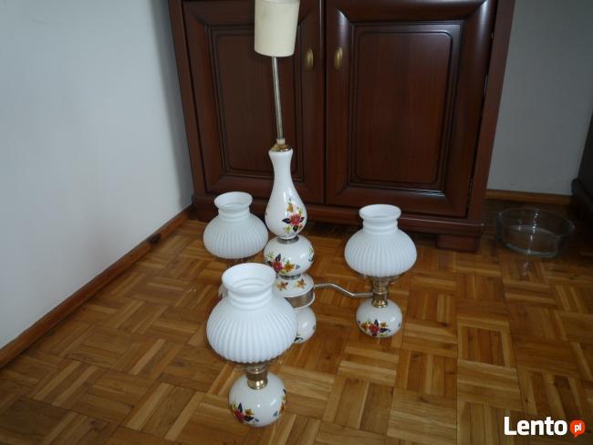 Sprzedam wiszącą lampę elektr.- ceramika.