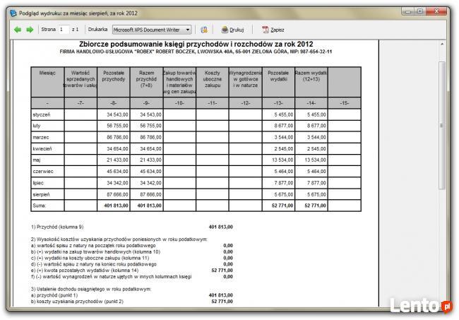PODSUMOWANIE KPIR PDF DOWNLOAD