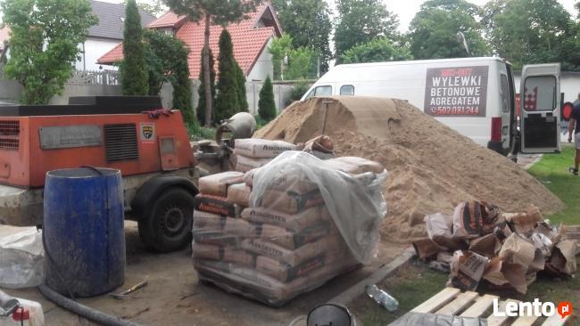 wylewki betonowe agregatem
