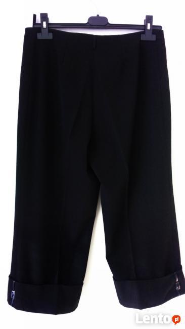eleganckie spodnie za kolano M