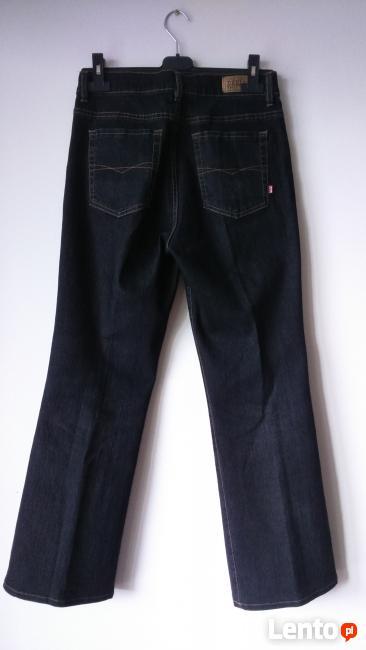 jeansy damskie Dehler proste M nowe ale skracane
