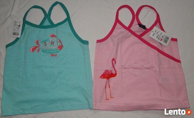 T-shirt Reserved, nowe, 6 szt, dziewczynka 98/110.