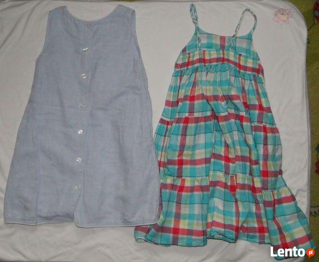 Sukienki H&M, Kubuś Puchatek, dziewczynka 104.