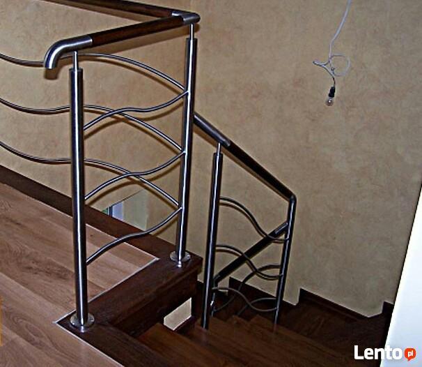 Balustrady nierdzewne schodowe oraz barierki