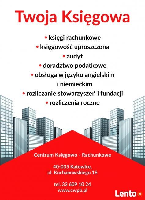 Biuro Rachunkowe Katowice Kochanowskiego 16 tel. 32 60910 24