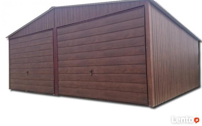 6,0 x 6,0 garaż blaszany, blaszak, pomieszczenie gospodarcze