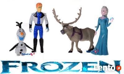 Zestaw Figurek Frozen Elza Olaf Sven Kraina Lodu