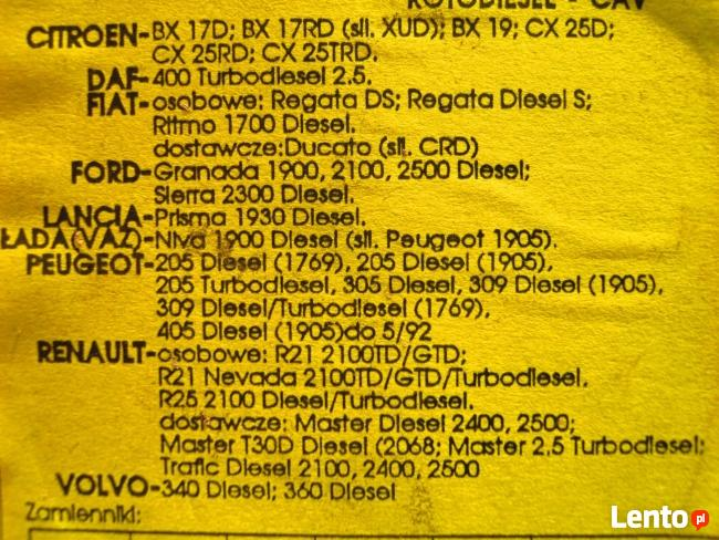 Citroen,Peugeot,inne-filtr paliwa diesel-10 zl