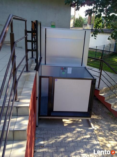 Platforma dźwig winda podnosnik dla osób niepełnosprawnych