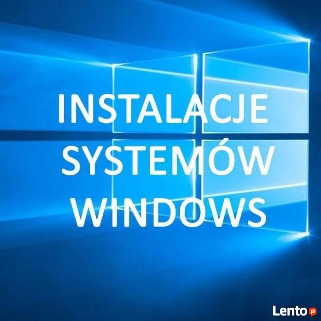 Instalowanie systemów operacyjnych - Serwis Komputerowy