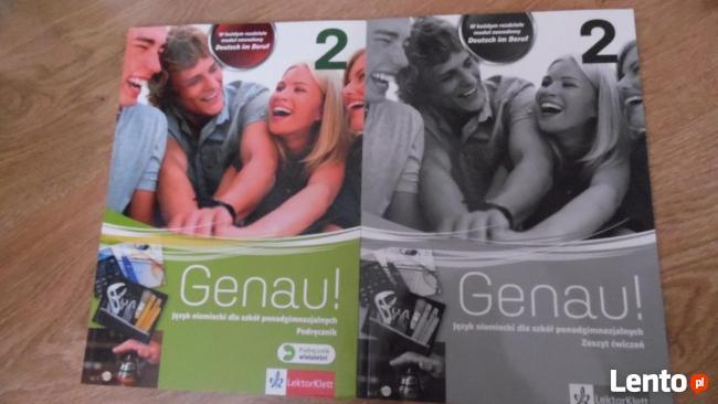 Genau 2- podręcznik z ćw- j.niem.- nowe !!