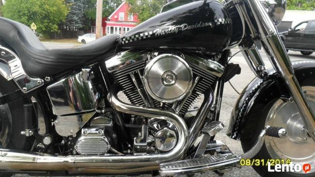 Harley Fat boy w idealnym stanie bezwypadkowy