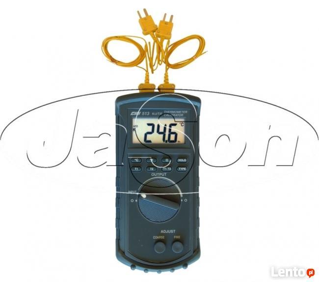 Termometr kalibrator 2 kanałowy CHY513