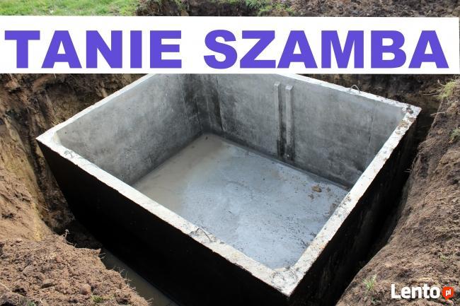 Zbiornik szczelny szambo na ścieki Szamba atest 5 lat gwaran