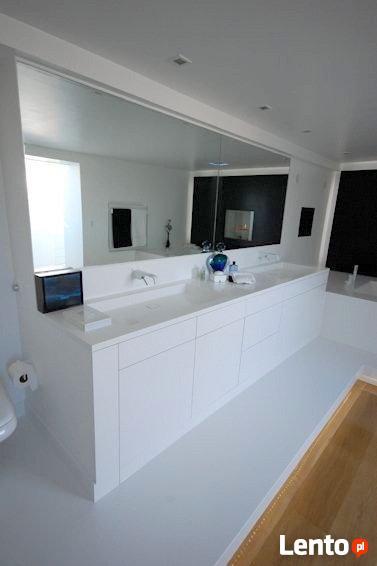 MEBLE ŁAZIENKOWE szafki łazienkowe pod umywalkę na wymiar