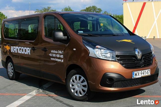 KANGOOR wypożyczalnia samochodów dostawczych, busów, plandek