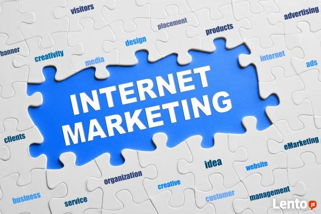 Strony WWW, social media. Marketing w Internecie