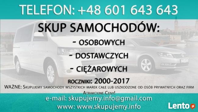 Kraków, skup aut, skup samochodów za gotówkę! Uczciwe ceny!