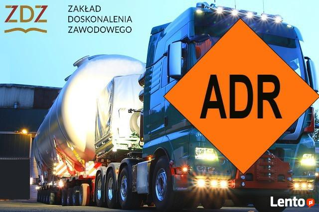 Kurs ADR przewóz towarów niebezpiecznych szkolenie okresowe