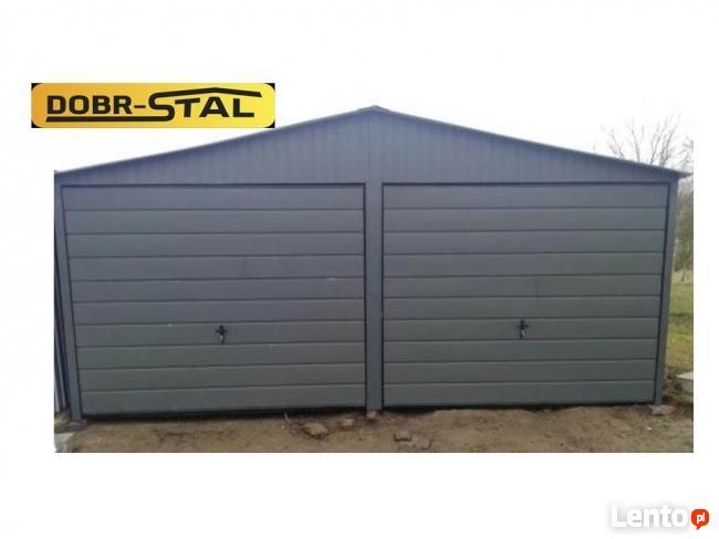 Garaż 6x6 akryl GRAFIT