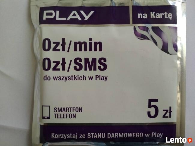 Startery SIM PLAY gotowy do użytku prepaid