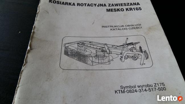 Talerz ślizgowy Kosiarki Mesko Z 175