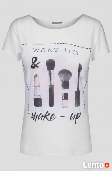 t-shirt z nadrukiem Orsay
